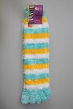 Furry Stripe Design Toe Socks - Dozen Pack - $17.81