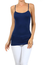 Fashion Mic Womens Basic Solid Color Cami Top Many Colors - $6.92
