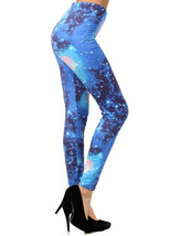 Fashion Mic Women's Nebula Outer Space Printed Legging - $15.83