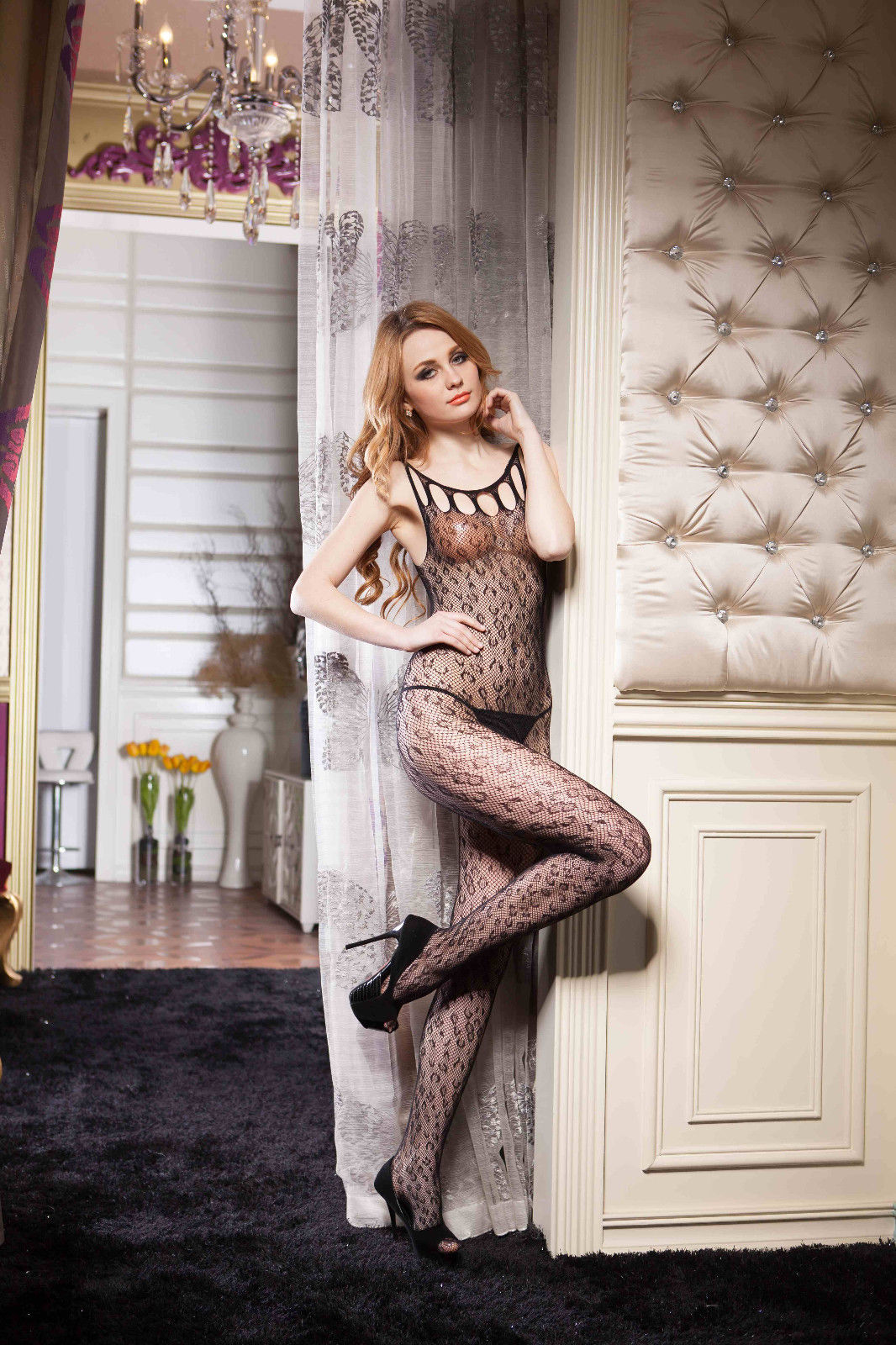 Fishnet Full Body Stocking - Free size - Different Styles image 2