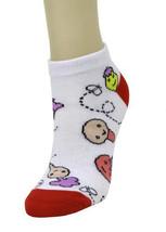 Graphic Print Low Cut Socks-1 pair- Size 9-11 - $1.97