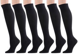 Fashion Mic Women's 6 Pair Cute Design Knee High Socks - $13.85