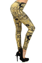 Fashion Mic Womens Colorful Full Length Polyester Spandex Leggings - $9.89