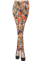 Lady's Tangerine Dreams Fashion Legging - $15.83
