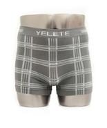 Fashion Mic Men's Plaid Flannel Boxer Briefs Underwear - $4.94