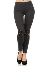 Lady Womens Cranium 3-D Skull Patched skinny ti... - $24.74