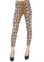 Fashion Mic Womens Leopard Animal Print Ombre Leggings - $12.86