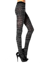 Lady's Fashion Spiraling Lava Dots Tights - $13.85