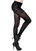 Fashion Mic Womens Side Stitches Pattern Nylon Pantyhose Stockings - $13.85