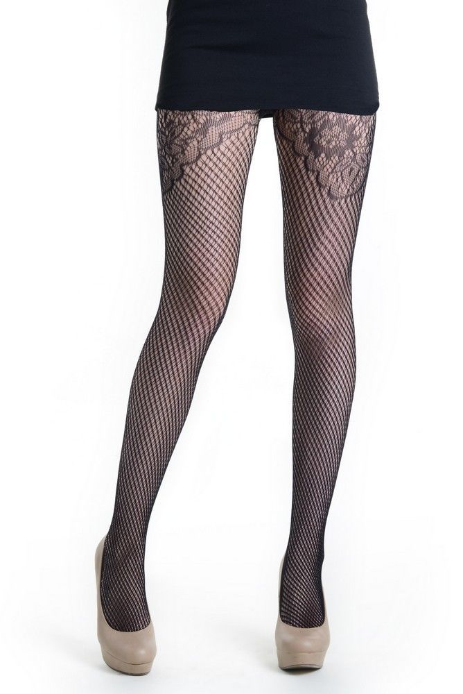 Fashion Mic Womens Geometric Nylon Spandex  Stocking Fishnet Pantyhose
