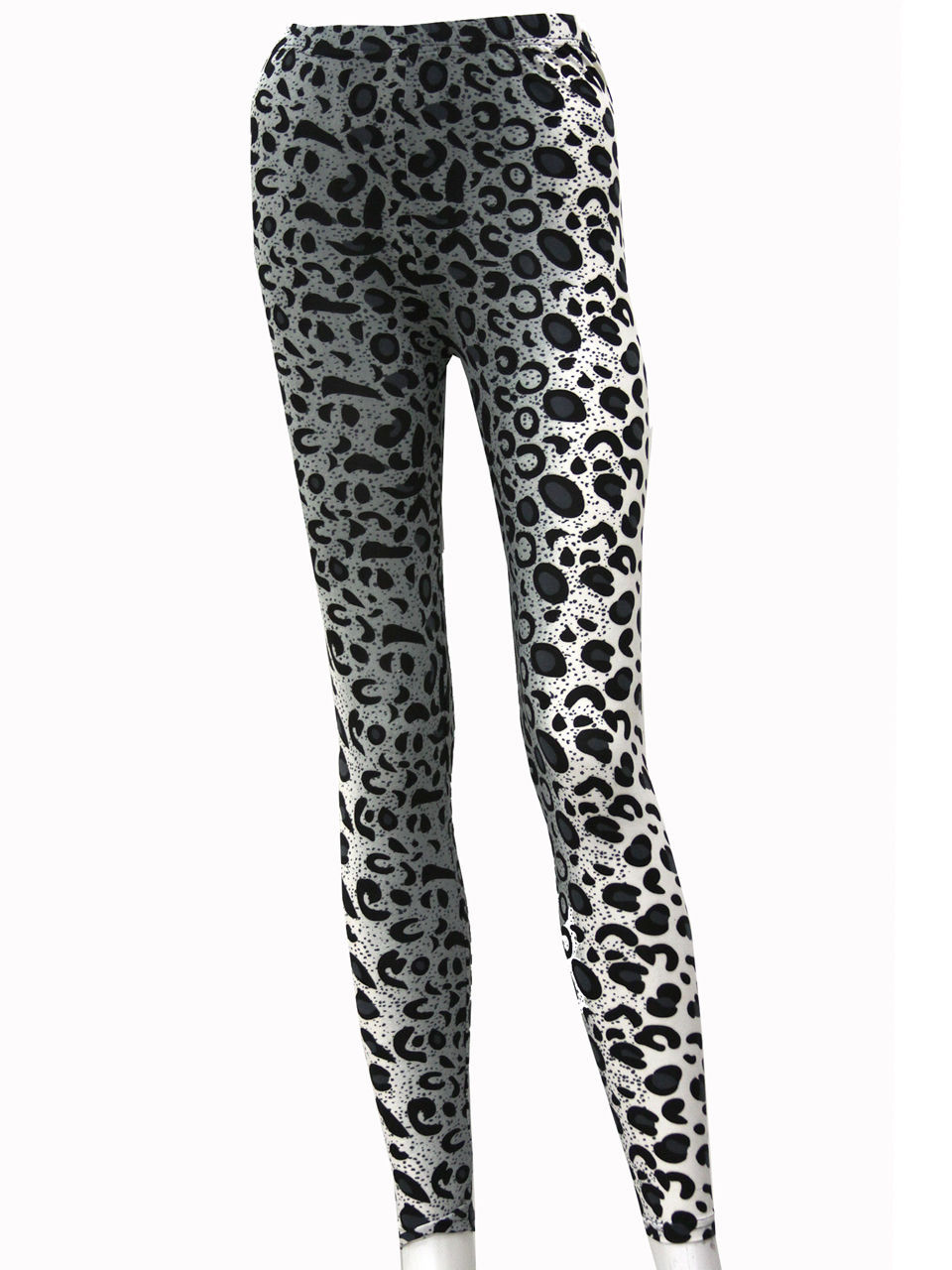 Fashion Mic Womens Animal Leopard Print Casual Everyday Leggings