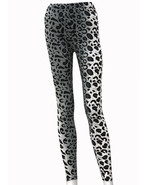 Fashion Mic Womens Animal Leopard Print Casual Everyday Leggings - $12.86