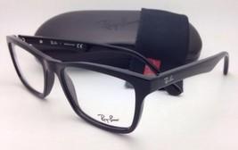 New RAY-BAN Eyeglasses RB 5279 2000 55-18 145 Black Square Frames w/ Dem... - $149.95