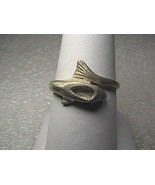 Vintage Sterling Silver wrap Around Dolphin Ring  2.3 grams - $10.00