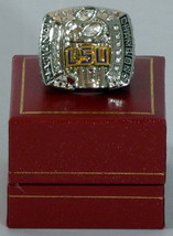 Louisiana State Tigers 2007 Replica National Champions Ring - $33.95