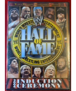 WWE HALL OF FAME: 2004 INDUCTION CEREMONY- 2 DVDs- WRESTLING-NEW- FREE S... - $12.99