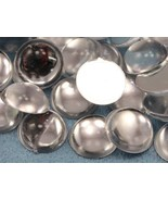 9mm Crystal .AC Flat Back Acrylic Round Cabochon High Quality Pro Grade ... - $4.92