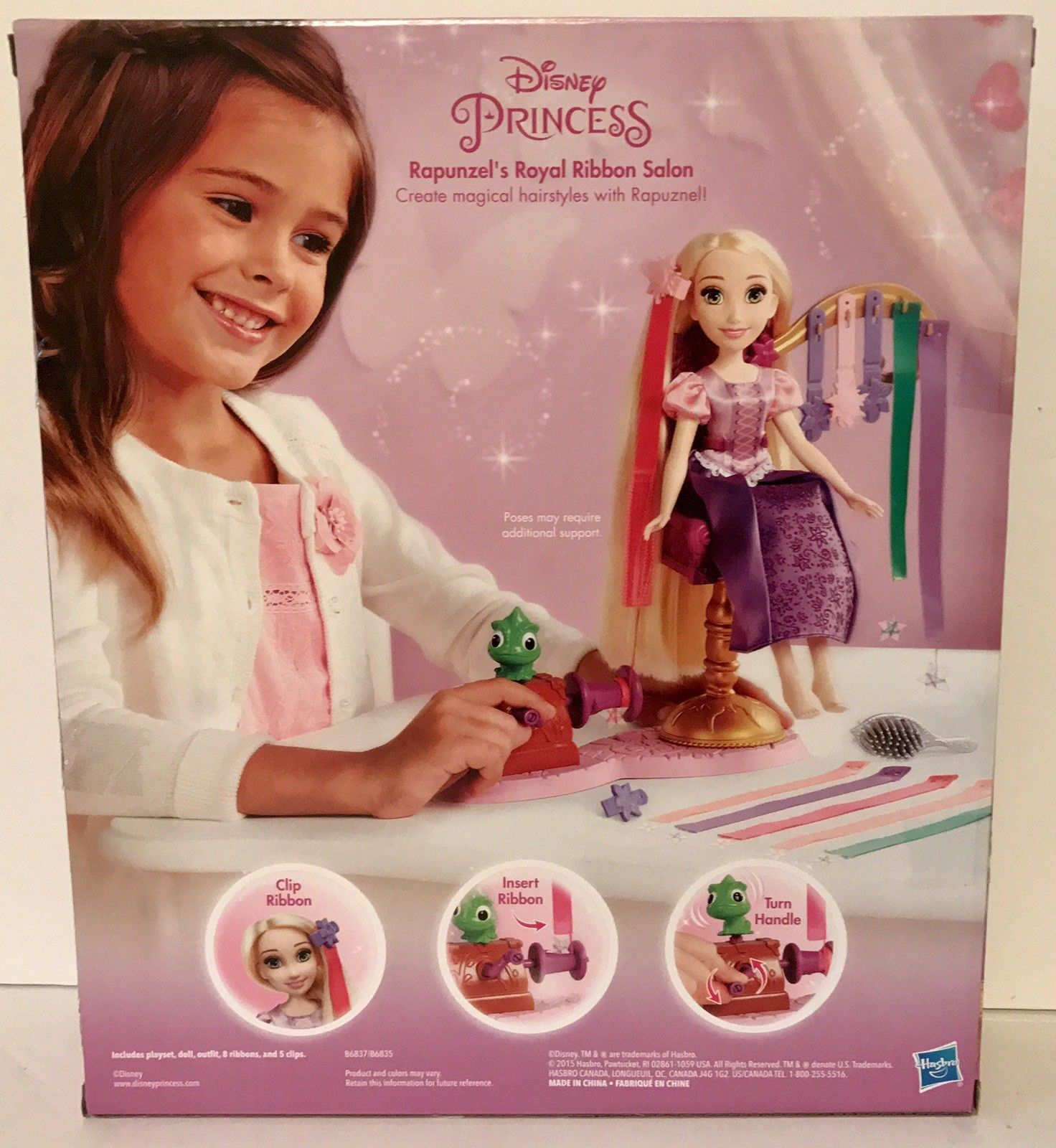 Disney Princess RAPUNZEL'S Royal Ribbon Salon - Great Gift For Your Princess NEW