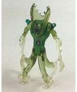 "Ben 10 Wildvine Alien 4"" Figure Translucent Clear Cartoon Network Bandai... - $16.88"
