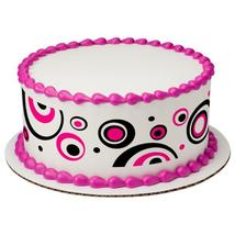 Mod Dots Edible Cake Topper Image Strips - $9.99
