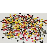 6mm Christmas Red Round Hotfix Nailheads - 100 Pieces [Kitchen] - $4.67