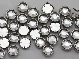 8mm Crystal CH38 Preset Rhinestones - 100 Pieces [Kitchen] - $7.25