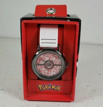 Accutime Nintendo Pokemon Pokeball Red And White Wrist Watch Brand New In Box - $27.40