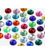 15mm Assorted Round Smooth Surface Cabochons -120 Pieces [Kitchen] - $17.32