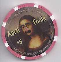 $5 Hard Rock Hotel Vegas Chip April Fools 2011 - $8.95