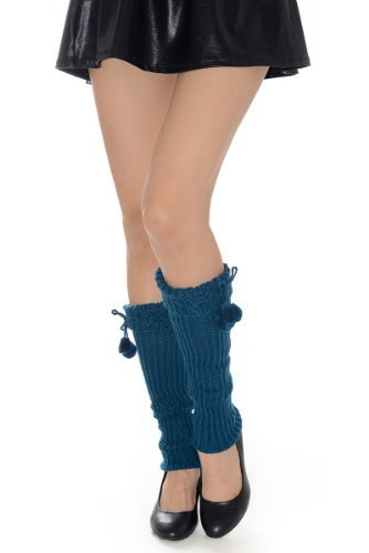 Fashion Mic Womens Fuzzy Fashion Design Leg Warmers Many Styles (free size, l...