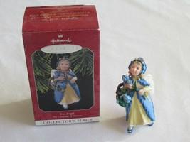 Iris Angel The Language Of Flowers Series #3 1998 Hallmark Christmas Orn... - $5.99