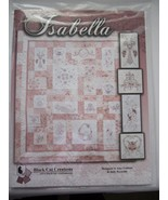 Black Cat Creations Isabella Quilt Pattern - $14.95