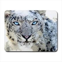 Snow Leopard Mousepad (Neoprene Non-slip Mousemat) - $7.71