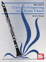 Clarinet FIngering and Scale Chart/Mel Bay/New!  - $4.99