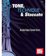 Tone,Technique,and Staccato/Galper Clarinet Series Book - $18.99