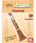 First Lessons Clarinet/Viner/Book w/CD Set/Beginners Book - $9.99
