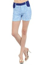 Fashion Mic Womens Summer Shorts (small, skyblue) [Apparel] - $17.81