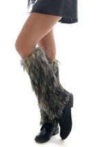 Fashion Mic Fluffy Furry Warm Winter Leg Warmers Multiple Styles (free size, ... - $21.77