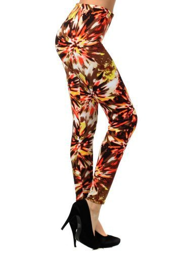Primary image for Crystalize Crystals in Woodsmoke Printed Legging (one size, mixed) [Apparel]