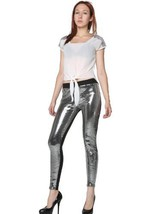 Fashion Mic's All Over Sequin Leggings (S/M, silver) [Apparel] - $39.59