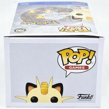 Funko Pop! Games Pokemon Meowthe #780 Vinyl Action Figure image 6