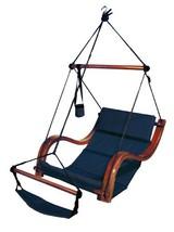 Hammaka Nami Deluxe Hanging Hammock Lounger Chair In Blue - $151.96