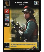 Young Jedi Card- Royal Guard Veteran - $1.00