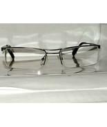 +2.00 Strength Caloptix Blueprint Gun metal Semi Rimless Reading Glasses... - $9.75