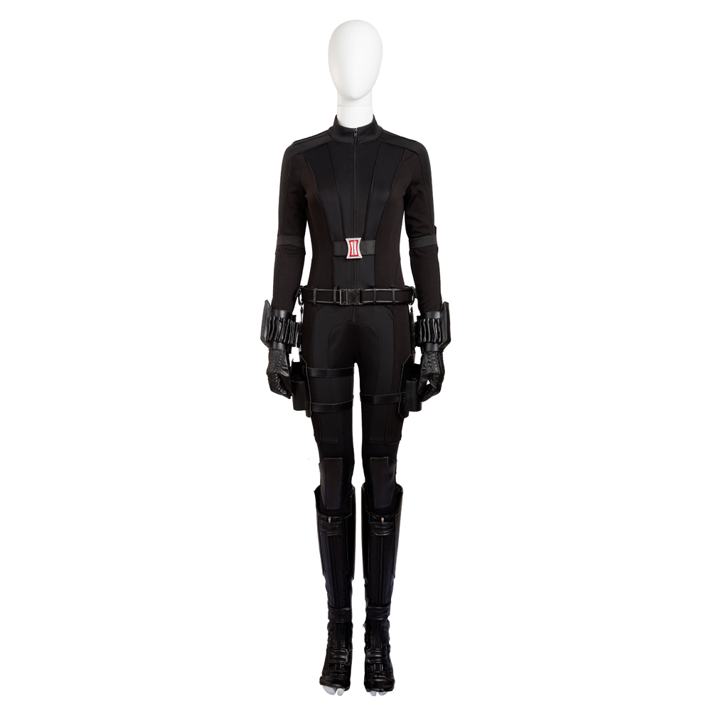 Ck widow costume natasha romanoff cosplay costume deluxe outfit halloween costumes for women  1