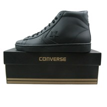 Converse PL 76 Mid Leather Top Size 10 Mens Triple Black Lunarlon 155334... - $54.40