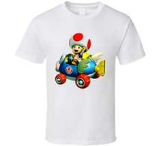 Mario Kart Toad Video Game T Shirt - $16.69+