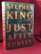 JUST AFTER SUNSET by Stephen King - 1st edition, 1st printing - $73.50