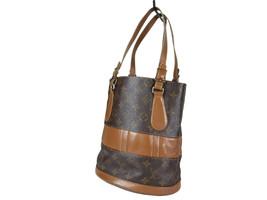 Auth Louis Vuitton Vintage Bucket Monogram Tote Bag, Shoulder Bag Purse LS2528 - $219.00