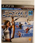 Playstation 3 ~ Sports Champions ~ Video Game - $4.94